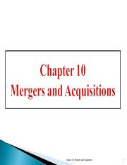 Ch 7 - Mergers.ppt