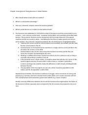 Chapter 10 Assignment Questions, Answered