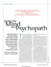 The psychopathic mind