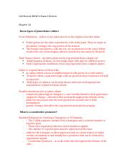 Cell Biotech BIO451 Exam 2 Review.docx