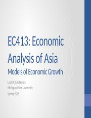 Cao 4 Models of Economic Growth - Web