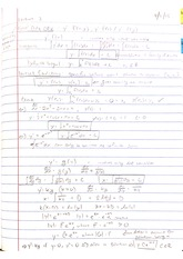 Lecture - First Order Ordinary Differential Equations