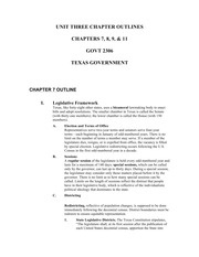 2306_UNIT_THREE_CHAPTER_OUTLINES