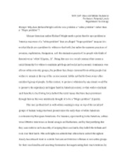 Richard Wright Race Problem Essay