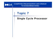 L7 Single Cycle Processor
