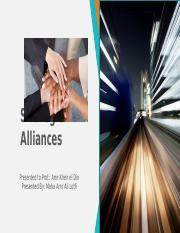 Strategic Alliances- 2nd assignment.pptx