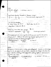Chemistry Lecture 1 Notes