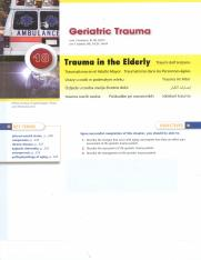 18 Trauma in the elderly