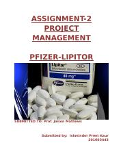 pm assignment 2 pfizer.docx