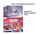 lecture12 Memory Systems Part I