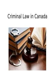 Criminal Law in Canada MLS.pptx