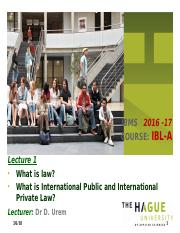 Lecture 1A. Wat is recht + Intro. Int Law_short_AP1.pptx