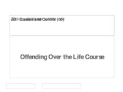 (10) Offending Over the Life Course