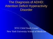 Unit on ADHD with Annotated Notes