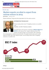 Market experts on what to expect from various sectors in 2014 _ Business Today