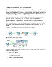 Configure Cisco Router Step by Step Guide-maya.docx