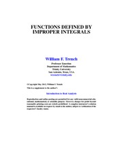 TRENCH_IMPROPER_FUNCTIONS