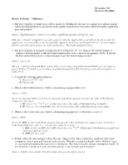 intermedmicro review midterm 1 solutions