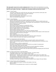 Study Guide, Test 3, Fall 2013