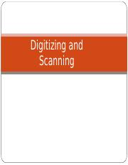 6.Digitizing and Scanning.ppt
