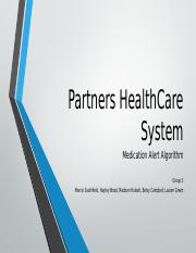Partners HealthCare System PowerPoint (1)