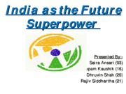 india as future power