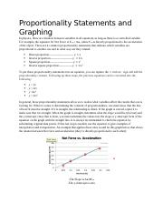 Proportionality Statements and Graphing.docx