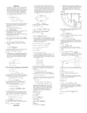 Final Cheat sheet 1l