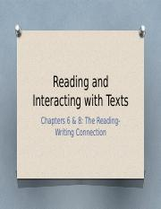 6 Reading and interacting with texts.pptx