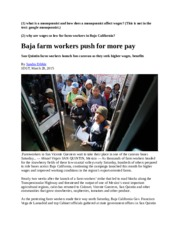 Yes. QU INCLUDED. Ch 6. Farm Workers in Baja. 1