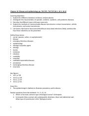 chp 16 disease and epidemiology study guide.docx