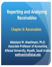 Chapter 8 - Receivable.ppt