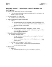 HDFS 2001 Exam 3 Notes