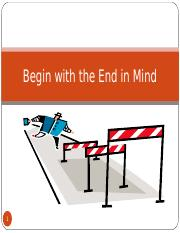 Habit 2 Begin with the End in Mind.ppt