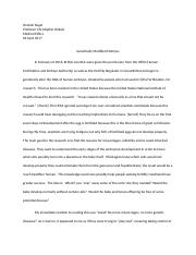 Hannah Kugel Genetic Modification Medical ethics reaction paper #1.docx