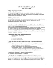 LER-100-Mid-Term-Study-Guide