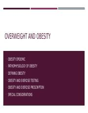 Lecture 9 - Overweight and obesity - student copy.pptx