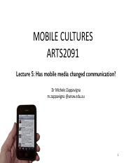 L5 Has mobile media changed communication- copy