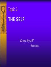 Chpt_2_The Self.ppt