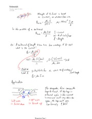 PHYS 12 Solenoids Notes