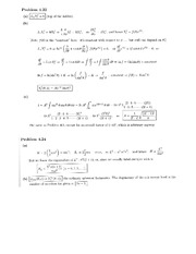 Physics 137A Homework 11 Solutions