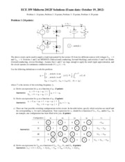 Midterm2012 - Solutions