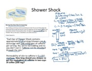 31. Shower Shock annotated