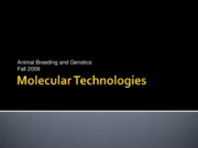 Molecular_Technologies_week_9_animal_breeding_fall_2009
