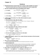 Chem 101 Book Answers (Ch.10)