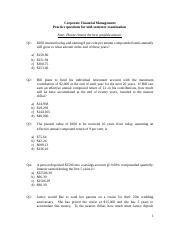Mid-semester Practice examination paper(1)