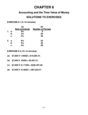 Chapter 06 - Homework Solutions