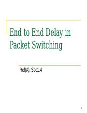 04-End+to+End+Delay.ppt