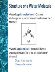 properties of water-lesson 3