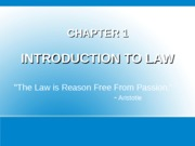 Chapter 1 - Intro to Law-2